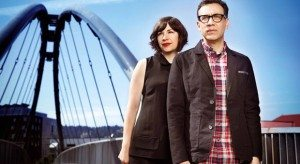 Carrie Brownstein (l.) and Fred Armisen (r.) stars of IFC's Portlandia
