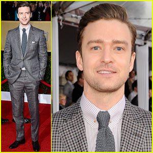 Justin Timberlake 2013 SAG awards