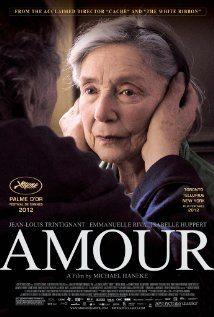 Amour poster Emmanuelle Riva