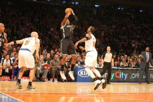 Joe Johnson Scores a basket with under :30 seconds to play to send Brooklyn back to the 718 with a victory