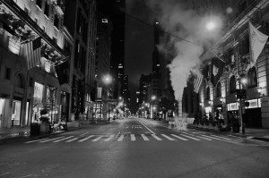 Empty 5th Ave.
