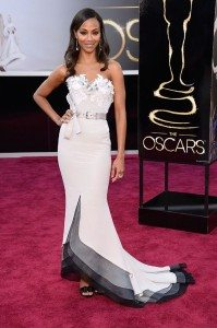 I've spent an hour of my life determining whether or not this dress is a winner...final verdict? It is. (source: Yahoo!)
