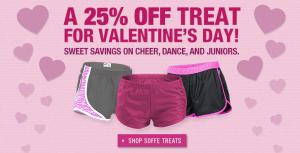 25% Off Valentine's Day Sale