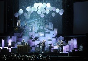 Fun. Performing Carry On (Source Grammys.com)