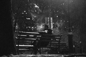 A Quiet Smoke In The Park