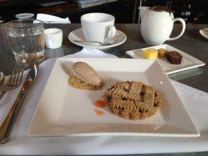Cranberry Linzar Tart Dessert at L'Ecole International Culinary Center