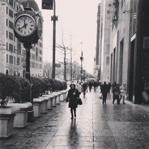 Rain on 5th Ave.
