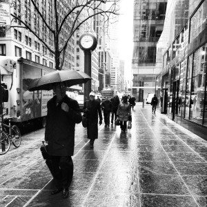 Rain on Madison Ave.
