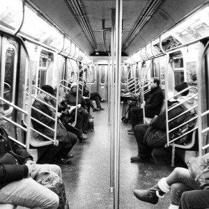 Subway Car Noir