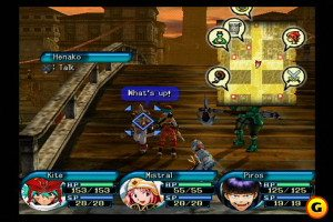 Gameplay from .hack//Infection Source: Gamespot