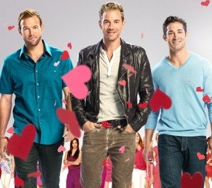 Ernesto Arguello, Tim Lopez, and Ben Patton, your bachelors on Ready For Love (Source:NBC)