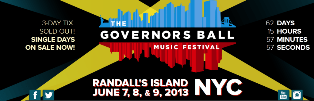 Credit to: Governor's Ball Music Festival