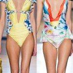 Floral Pattern Swimwear