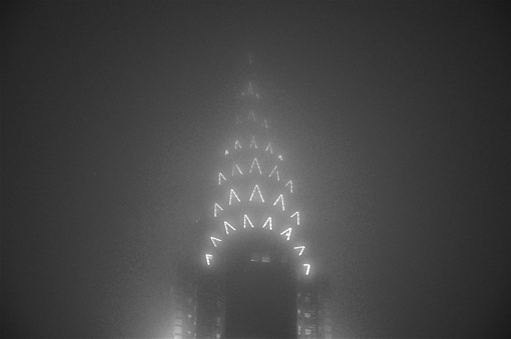 Art Deco in the Fog