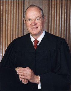 Supreme Court Justice Anthony Kennedy © Wikipedia