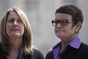 Hollingsworth v. Perry plaintiffs Sandra B. Stier and Kristin M. Perry (REUTERS/Jonathan Ernst)