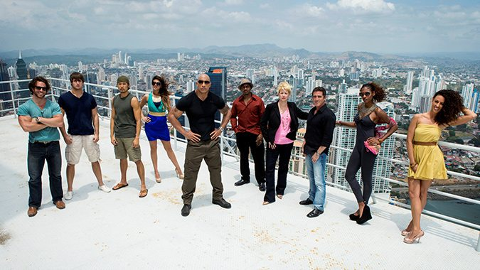 The Cast of The Hero (Source:TNT)