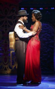 """Eric Anderson and Amber Iman in """"Soul Doctor"""". Photo compliments of Richard Kornberg PR"""