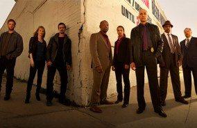 The cast of Low Winter Sun (Source: AMC)