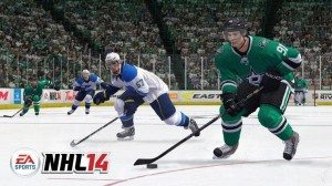 Gameplay screenshot of NHL 14. Source - Operation Sports