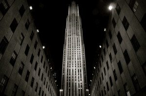 Rockefeller Plaza Noir