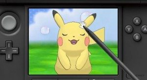The new Amie function allows you to pet your Pokemon to raise their affection level.