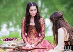 Adelaide Kane as Mary, Queen of Scots (Source: CW)