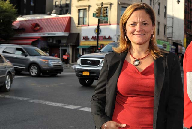 New York City Council Speaker Melissa Mark-Vivirito