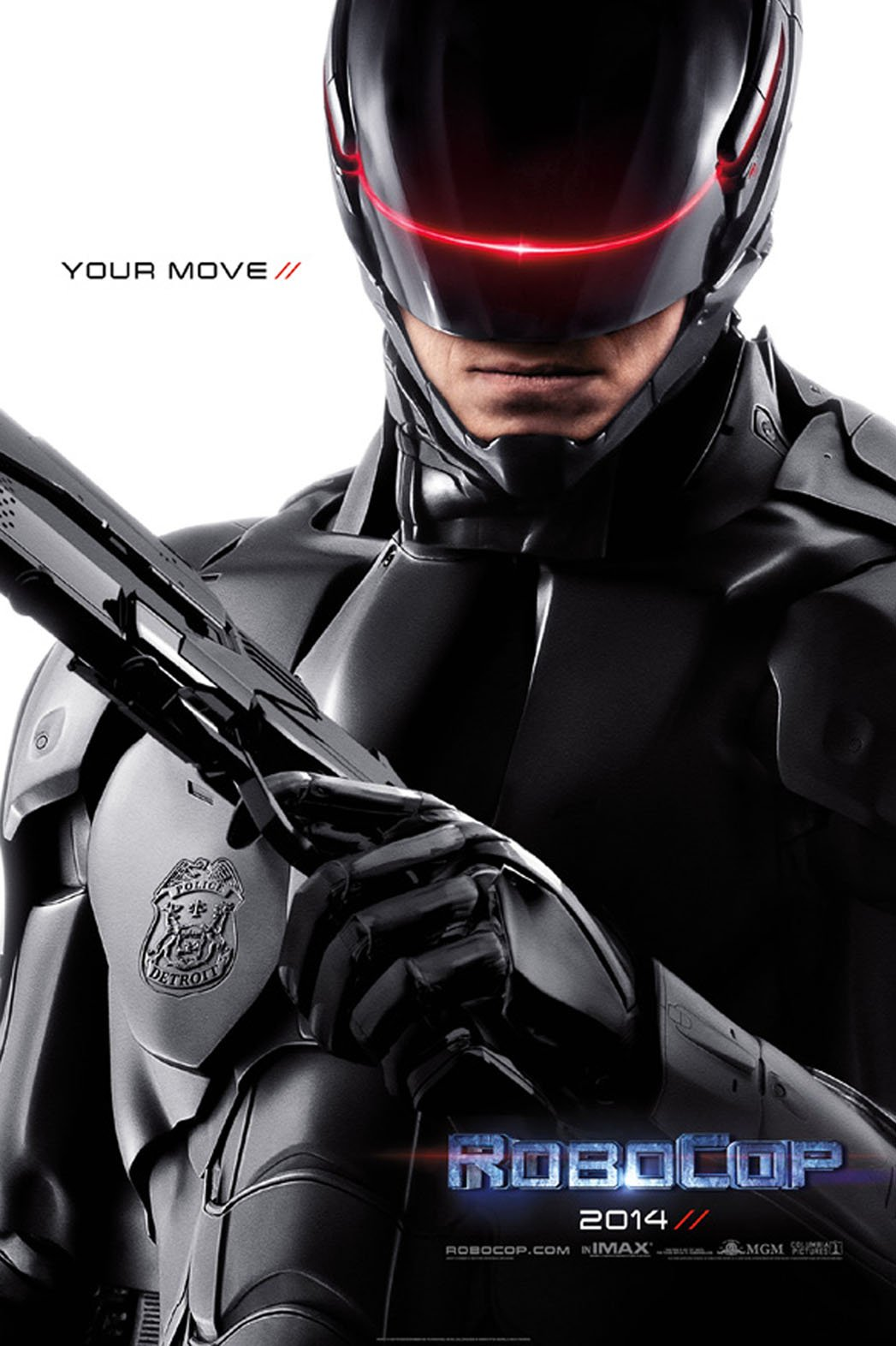 Poster for 2014's RoboCop remake