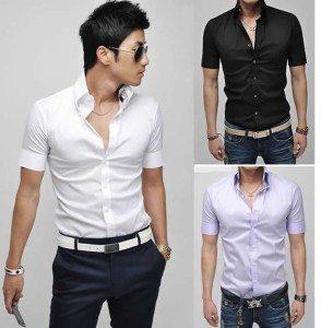 Open button down shirt