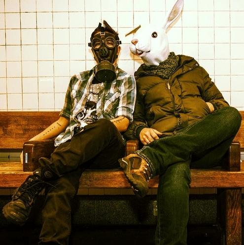 Jilly and bunny buddy.