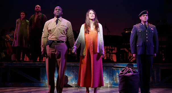 Foster in the 2014 Broadway production of VIOLET. Photo courtesy of Joan Marcus