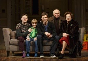 Playwright Terrance McNally and the cast. Photo courtesty of Joan Marcus.