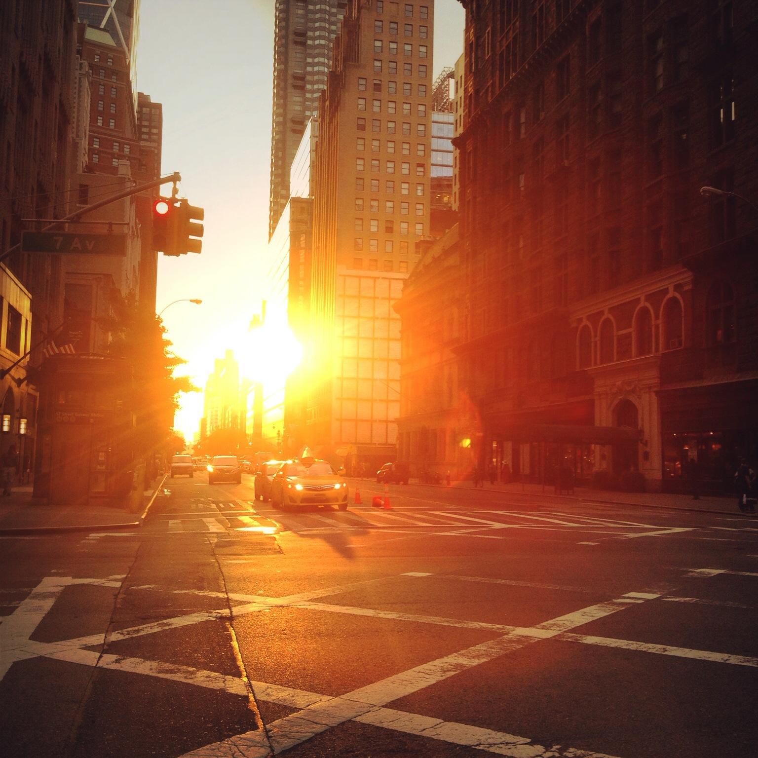 Manhattanhenge 1