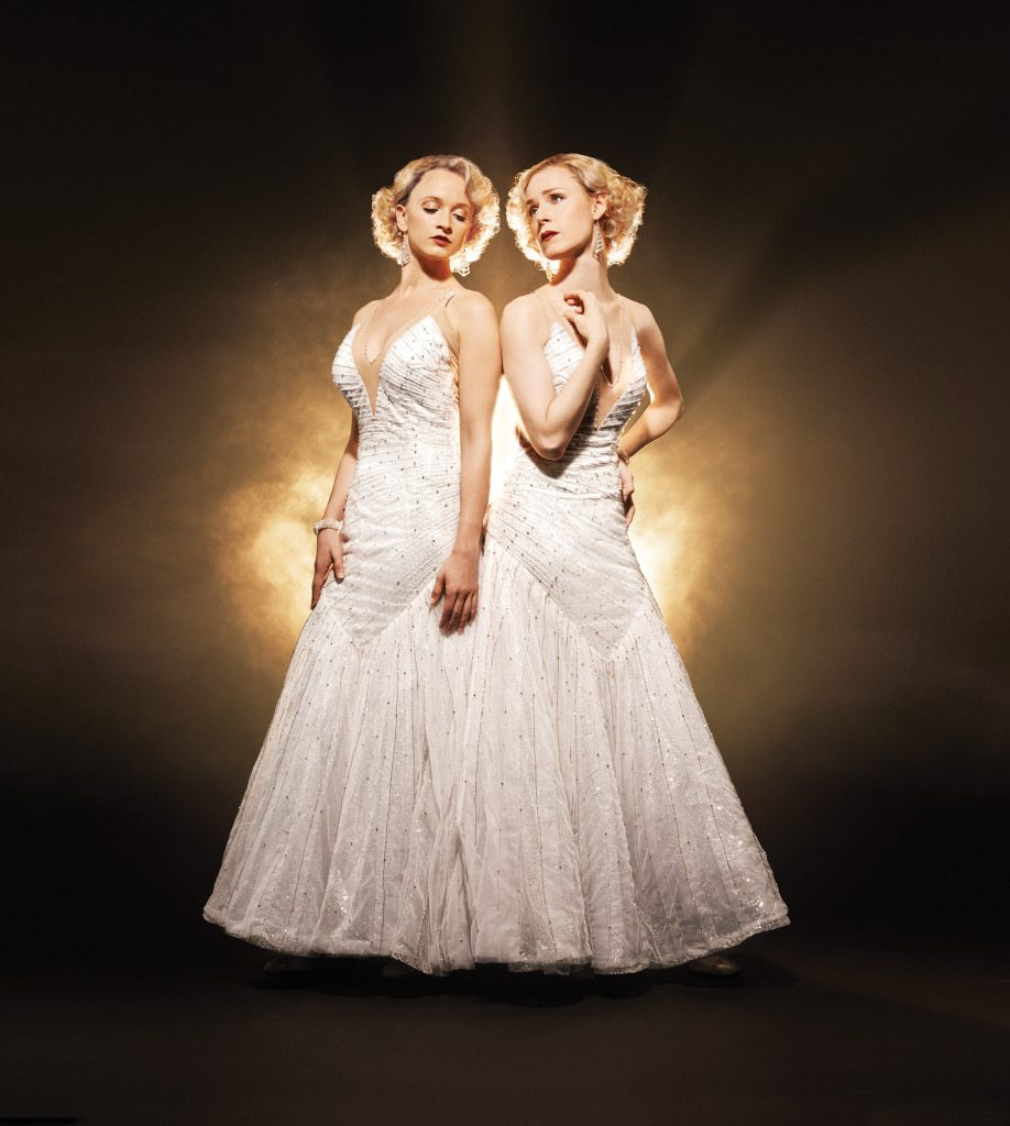 SIDE SHOW - Emily Padgett and Erin Davie. photo by Andrew Eccles