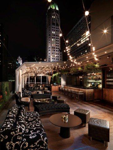 Manhattan Digest, Upstairs, The Kimberly Hotel