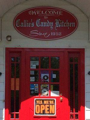 Callie's Candy Kitchen, Callie's Pretzel Factory, Manhattan Digest
