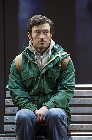 Bryce Pinkham as Peter Patrone. Photo Courtesy of Joan Marcus