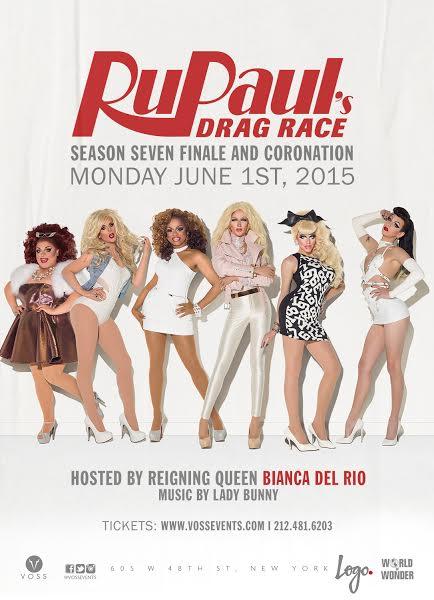 Rupaul's Drag Race, Ryan Shea, Manhattan Digest, Voss Events, Stage 48