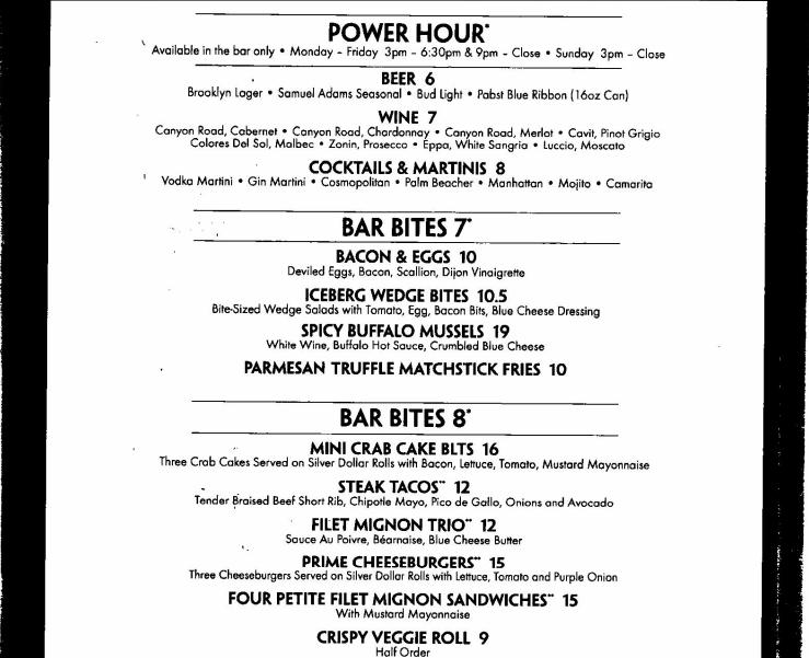 Morton's Grille, Manhattan Digest