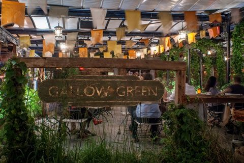 Gallow Green offers a delicious all you can eat brunch in a scenic and stunning setting. Photo courtesy of O&M.