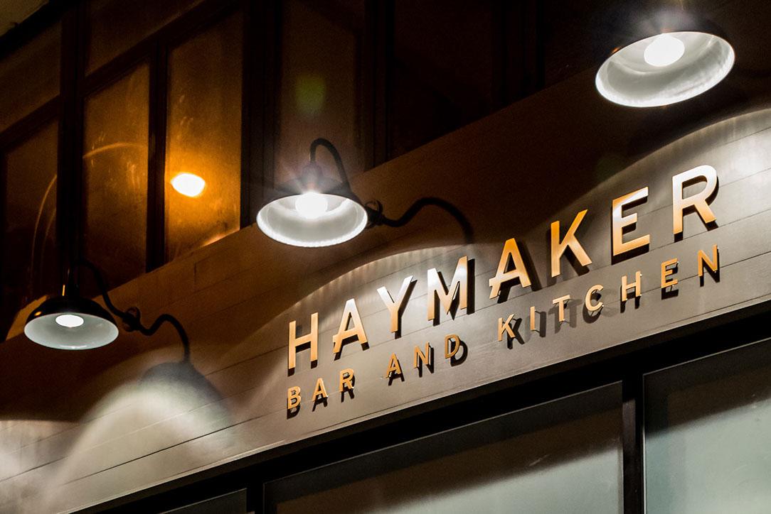 Manhattan Digest, Haymaker Bar & Kitchen