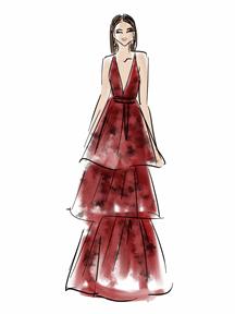 Zendaya by Chic Sketch