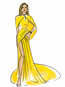 Jennifer Lopez by Chic Sketch