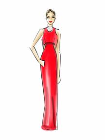 Jennifer Lawrence by Chic Sketch