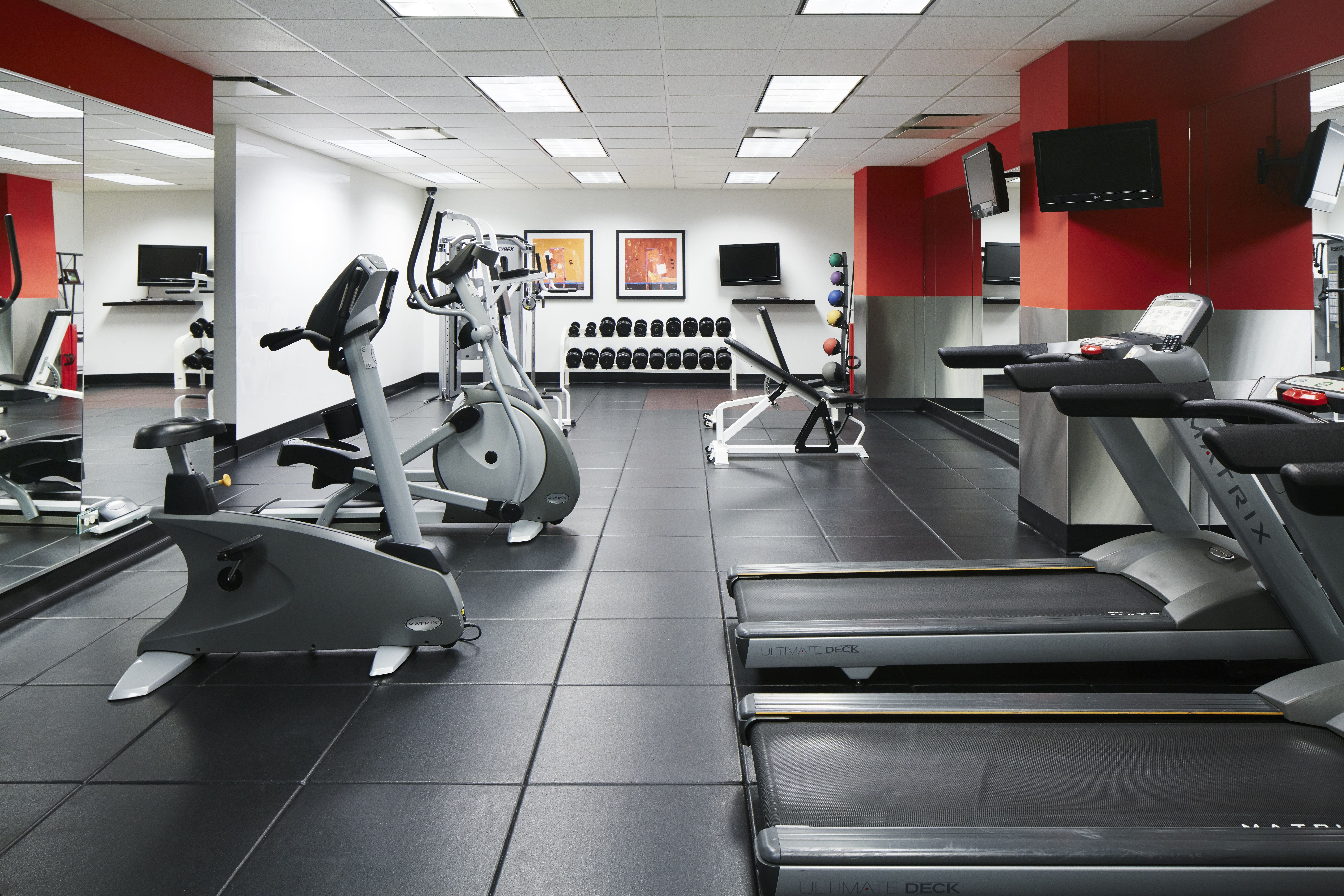 Fitness Center at Central Loop Hotel. Photo Courtesy of Lisa Piccirillo