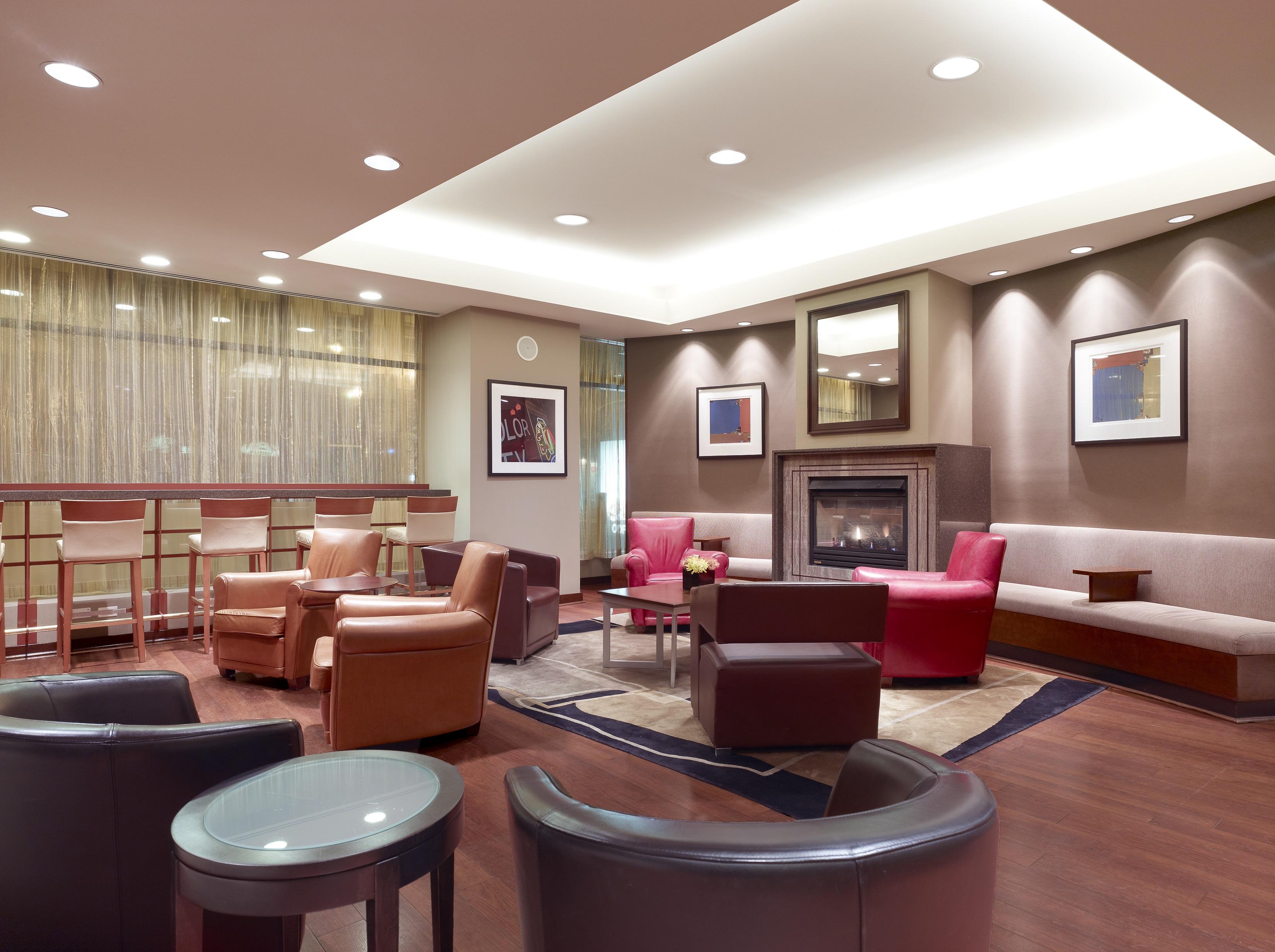Lobby of Central Loop Hotel. Photo Courtesy of Lisa Piccirillo