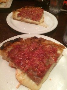 Malnati Chicago classic Deep-dish pizza. Photo courtesy of Ryan Leeds