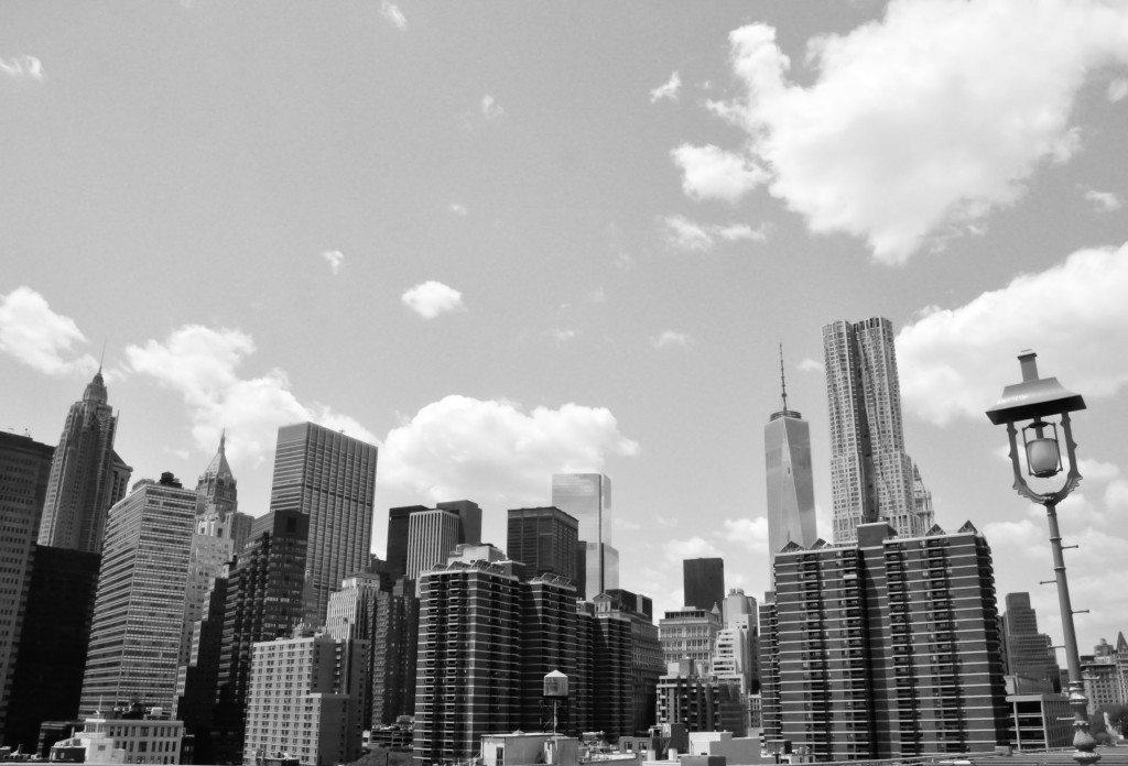 Brooklyn Bridge Skyline