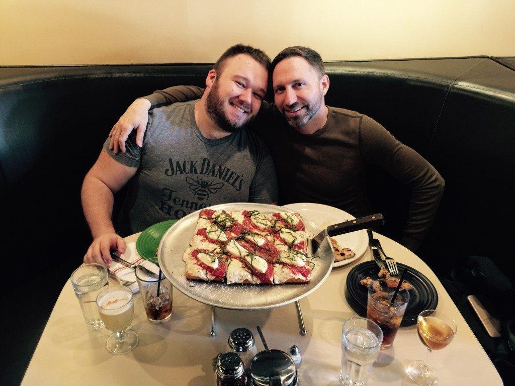 """Inside the amazing """"Tony's Pizza Napoletana""""."""